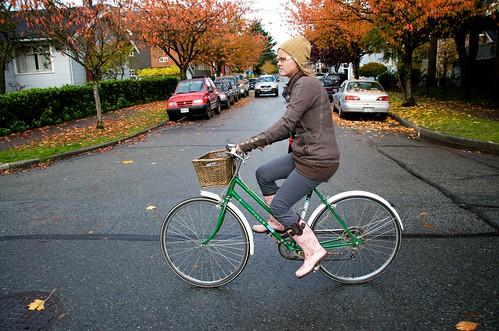 Dorothy Biking