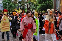 Japanese style Kawasaki Halloween 2008 36