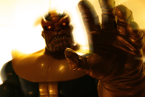 Thanos, Consort of Death (by ElDave)