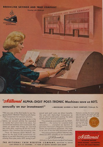 National Alpha-Digit Post-Tronic Machines