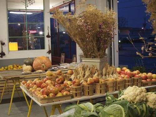Locally Grown Gardens market