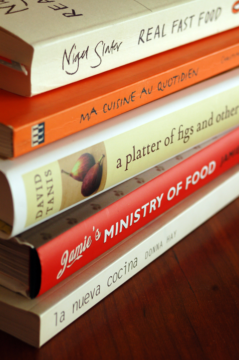 5 favourite cookbooks