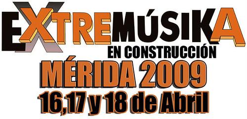 Extremúsika 2009 Mérida