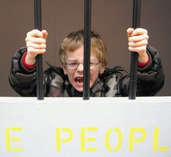 I won't be caged in any more (Help the Aged campaigns) Tags: old people may cage theresa help age older mp aged petition campaign maidenhead discrimination concern ageism