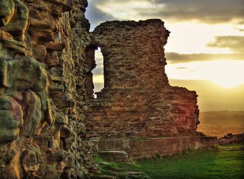 Sunset Over Sandal Castle HDR