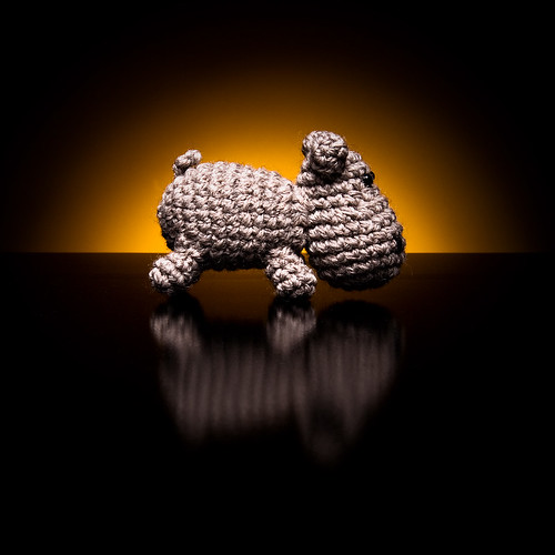 Product photography of small Japanese knitted toys - Amigurumi