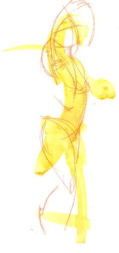 19/11 Painted gesture lines