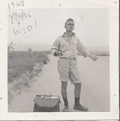 R.L. HUFFSTUTTER 1960, ENSENADA, BAJA (roberthuffstutter) Tags: huffstutter hitchiking hitchhiking thumbsup traveling mexico 1960s baja youth timeflys youthissofleeting southofensenada ensenada1960s bajamadness journeystoensenada ontheroad ajourneyahead destinations enroute hotanddustyroads dustyroads destinationlapaz youngandwild youngmanthumbingrides lapazorbust dustinmyeyes alottolearn sonaive ladonthemove youngandcrazy khakhishorts pipesmoker bajaadventures youngmanheadedforlapaz lapazboundyouth ontheroadwithrlhuffstutter lotoflivingleft1960 thehopesanddreamsofyouth dustyroadoffate akaearlrstonebridge bajahighways nightinjuarez connecticutt romancingthe60s sandiego1960s usntc usn beatniks beatniklifestyles cozyinn carsihaveloved mywatercolors ensenada venicebeach surplustags dharmabums ensenadatolapaz pipe smoker smoking roberthuffstutter robertlhuffstutter rlhuffstutter bobhuffstutter bobhuffstuttersart youngmen navydays autobiographical navyfriends snapshots1960s 1960smemories advertisementsformyself