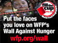 Click to participate in The Wall of Hunger project
