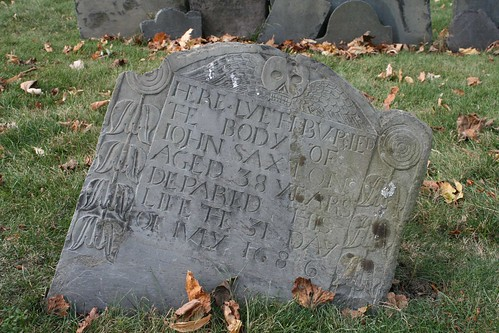 Old North Church Cemetary 1686 Marker