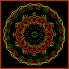 Design ~(K&K19)~ (Gravityx9) Tags: abstract fractal xmastime kk amer 1208 kfun colourartaward kk19 121508 kaleidospheres eggxact photoshopyarte