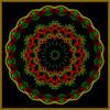 Design ~(K&K19)~ (Gravityx9) Tags: abstract fractal xmastime kk amer 1208 kfun colourartaward kk19 121508 kaleidospheres eggxact photoshopyarte