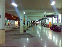 Andenes en la Estación de Autobuses de Murcia