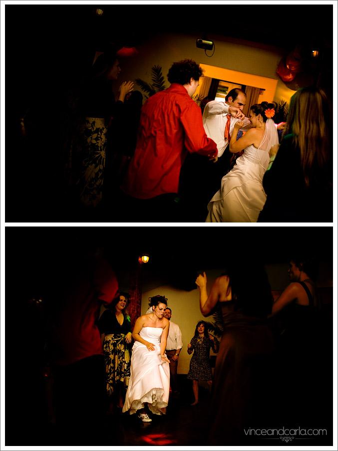 fun wedding culver events center dancing