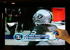 I Couldn't Wipe Out The Wipeout... (Beefus) Tags: football 6ws eraser nfl wipeout blowout patriots bovine erase raiders oaklandraiders jamarcusrussell