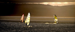 windsurf1new (zimmy0) Tags: sunset marina westkirby windsurf