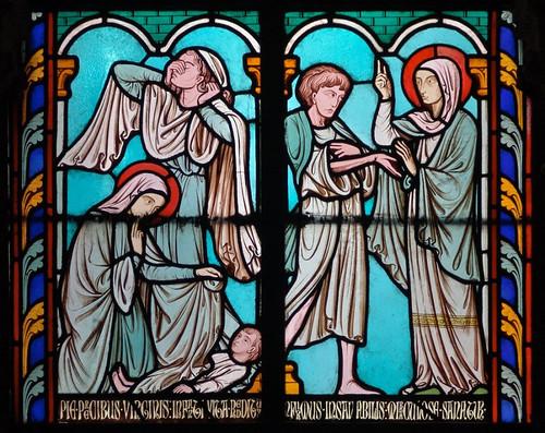 011- Vitral nº 10 claustro de Notre Dame de Paris