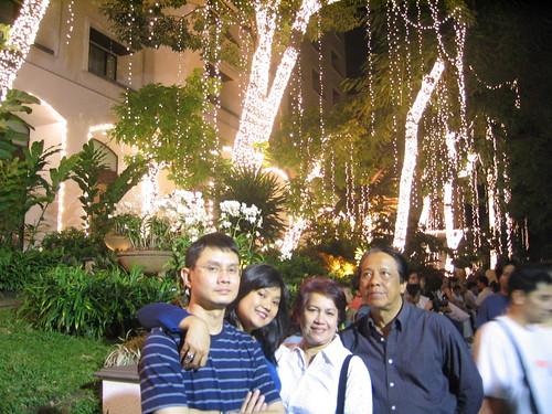 X Mas Lights @ The Four Seasons, Shukumvit St.
