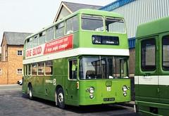 317-37 (Sou'wester) Tags: bus buses wales nbc publictransport daimler leafgreen fleetline psv northwales nationalbuscompany crosville hdl928 xuf398k