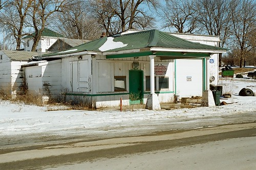 Old Canopy Gas Station