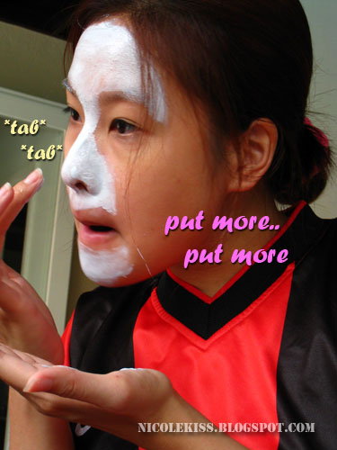 put more mask