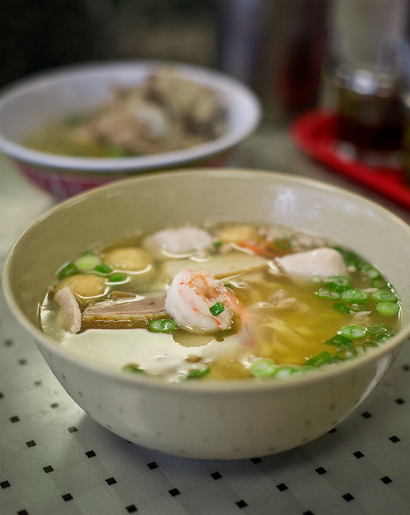 New Kamara Chinatown, Los Angeles - Chiu Chow Egg Noodle Soup