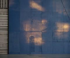 0111hyde0004 (casually, krystina) Tags: light wall abstraction reflectedlight haphazartblue