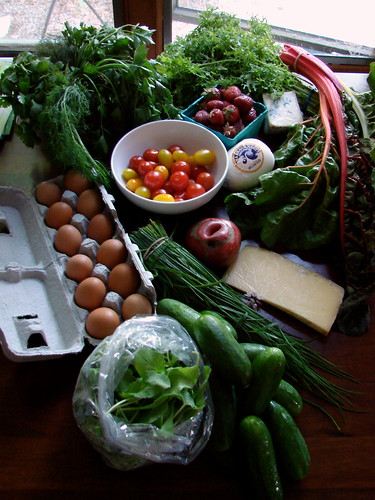 market haul, June 13, 2009