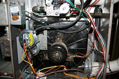 Gas Furnace Blower Motor -- IMG_9823