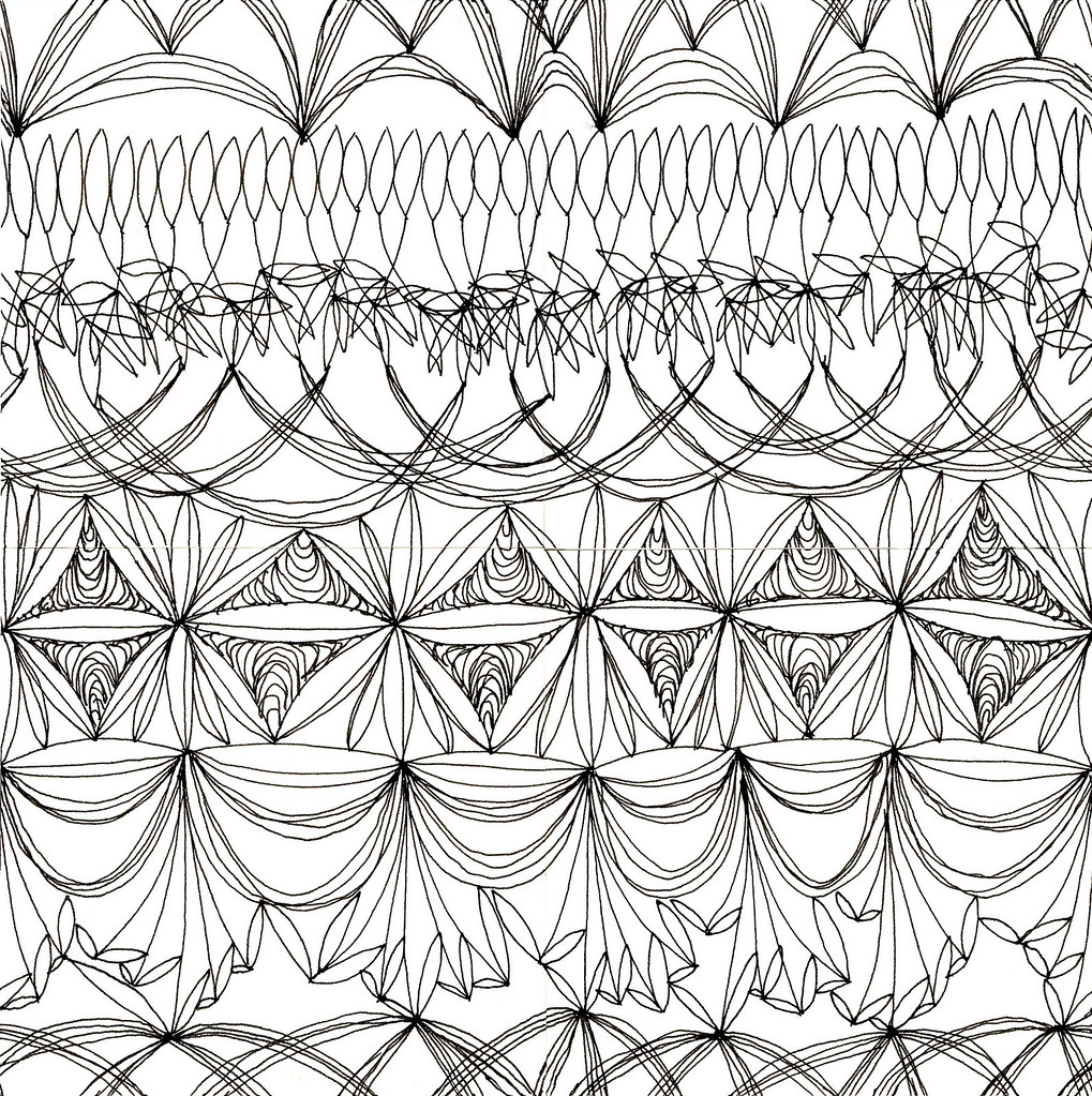 Horizontal Pattern, Original Drawing