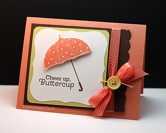 buttercup card