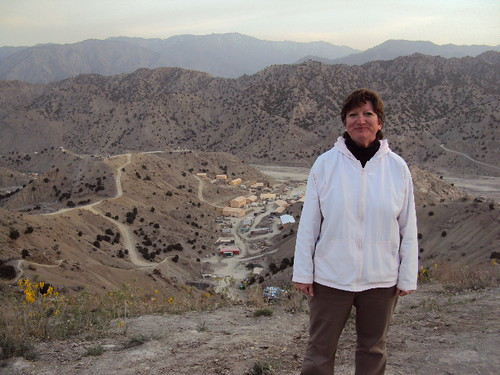 Maggie Rhodes, pictured in Afghanistan, has been a USDA agricultural advisor there since December 2009.""