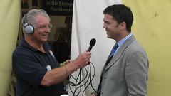 Speaking out on local issues on Radio Pembrokeshire (August 2008)