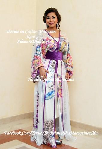 Shirine Abdelwahab porte un Caftan Marocain