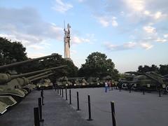 Oorlogsmuseum en vrijheidsbeeld
