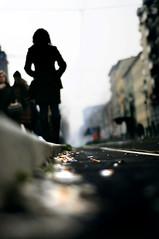 attesa | waiting (freak [ www.masiarpasquali.it ]) Tags: street waiting strada tram stop atm attesa sigarette rotaie mozziconi fermata metrocult