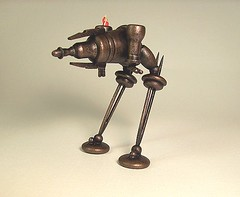 Steampunk Rhino Ray Gun Tank Biped Walker SUPER DETAILED All Wood Miniature (Builders Studio) Tags: wood fiction wild england mars west classic bronze trek comics toy death star robot punk gun ray fighter ship technology geek tech space painted alien victorian engine machine science victoria ufo retro steam queen nasa adventure copper scifi laser rocket pulp jules wars rogers rockets buck brass holmes robotics android martian droid geekery bot raygun invaders sherlock satelite robo automaton adventurer steampunk verne