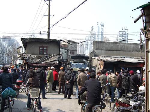 Crowd in Hongkou