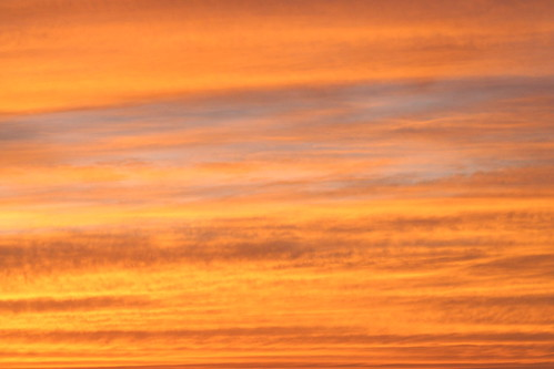 sunset fire sky 2