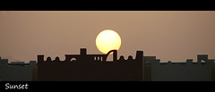 "Sunset (*Chris"")) Tags: sunset orange sun egypt soe makadi mywinners"