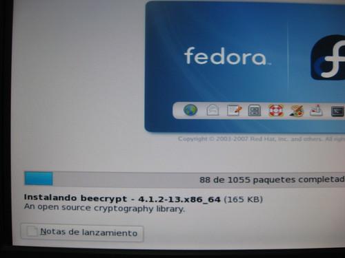 Instalando Fedora