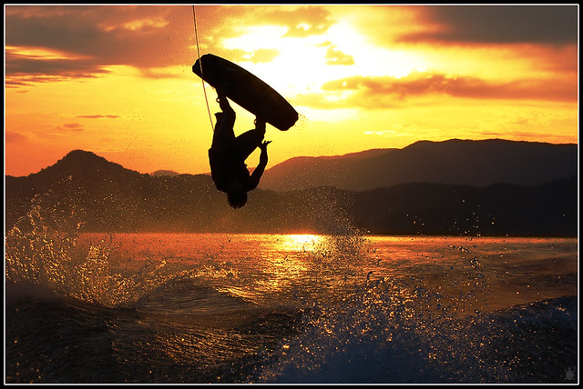 Wakeboarding Art