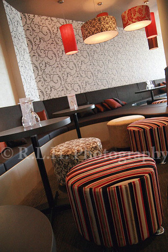 Interior Design with Unique Texture Decoration