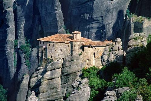 Monasterios de Meteora, Tesalia, Grecia
