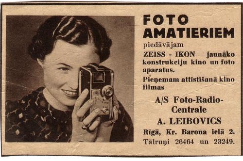 Foto amatieriem A. Leibovics