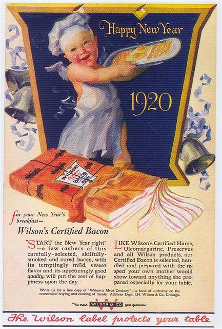 Wilson's Bacon, 1920