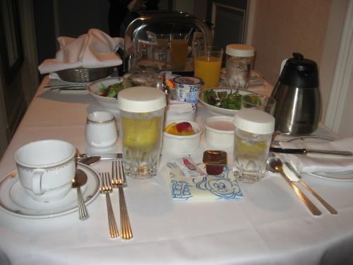 ホテルミラコスタ・モーニングのルームサービス