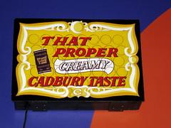 That proper Cadbury Taste (ilamya) Tags: newzealand sign cadbury dunedin