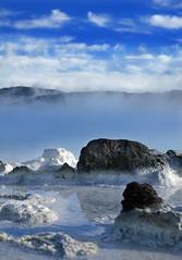 Heat (arngrimur) Tags: blue iceland nikon d70s lagoon reykjanes