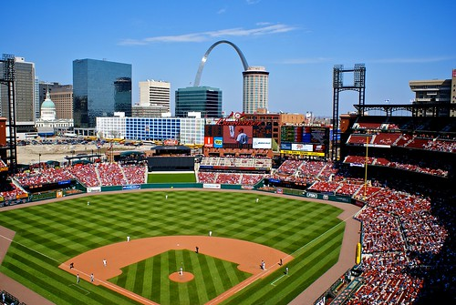Ballpark and Arch